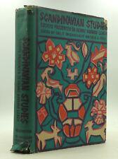 SCANDINAVIAN STUDIES - Bayerschmidt  & Friis, eds. - 1965 - European history