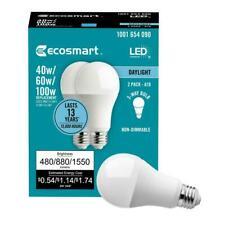 Ecosmart 40/60/100W Watt Equivalent Daylight A19 Medium E26 3-Way LED Light Bulb
