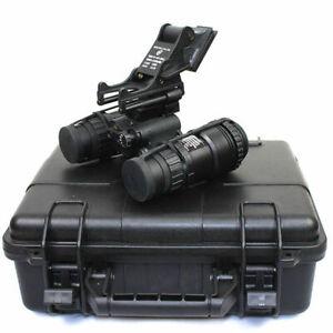 Tactical Dummy AN/PVS-15 Night Vision Goggles NVG Model or Helmet Mount Aluminum