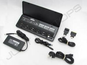 HP Universal USB 3.0 Docking Station with Charging for Toshiba LG MSI Laptop