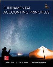 Fundamental Accounting Principles 22nd Edition Hardcover