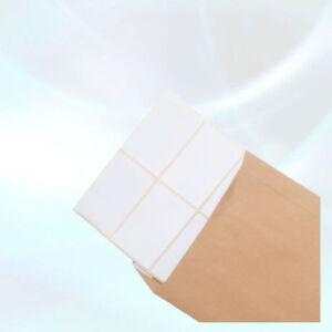 Blank White Self Adhesive Sticky Address Printer Labels Rolls 76mm X 50mm 140pcs