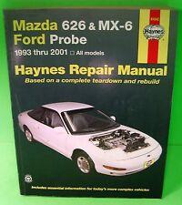 Haynes Mazda 626 MX-6 Ford Probe Auto Repair Manual 1993-2001 All Models 61042