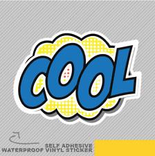 Cool Pop Art Bd Bulle de Dialogue Autocollant Vinyle Decal Vitre