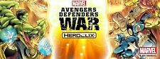 AVENGERS DEFENDERS WAR: Common 1-18 (Lot of 17)(no hand ninja) HeroClix
