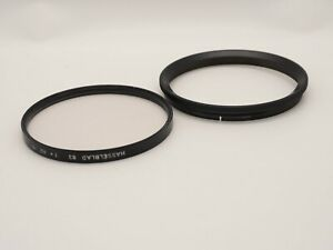 HASSELBLAD 63 1X HZ -0 DROP IN FILTER WITH ADAPTER RING *I11