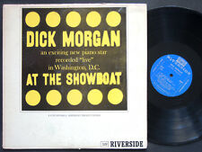 DICK MORGAN At The Showboat LP RIVERSIDE RLP 329 DG MONO Cannonball Adderley