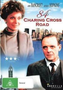 84 Charing Cross Road (DVD) Anthony Hopkins NEW/SEALED [Region 4, 2]