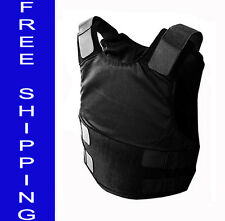Skarr Armor Deep Concealable w/ Kevlar Bulletproof Vest Body Armor NIJ IIIA XS