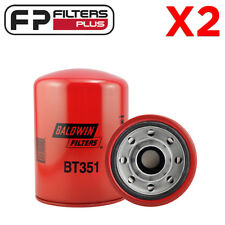 2 x BT351 Baldwin Hydraulic Filter - HF7947, HF6177, P550148, P565245, 51858