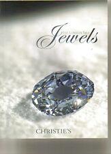 CHRISTIE'S JEWELS Boucheron Cartier Faberge Wittelsbach Diamond Auction Catalog