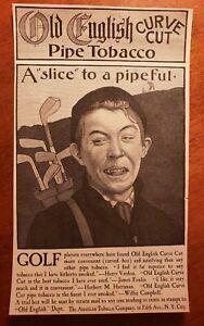 1900 Golf ad 4x8 Pipe Tobacco