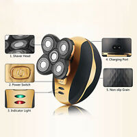 5 in 1 4D Premium Men Rotary Electric Shaver Bald Head Beard Trimmer Wasserdicht