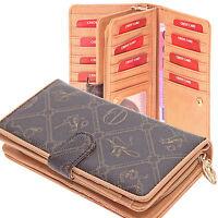 XXL Börse Geldbörse Brieftasche Portemonnaie Damenbörse Giulia Pieralli NEU!!!