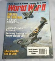 World War II Magazine Sept.  2000 Battle of Britain Spitfire Ace MacArthur