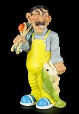 Fischer - Funny Job Figur - Angler Lustiges Hobby Geschenk Statue