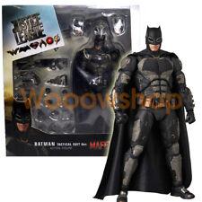 """Batman Justice League Tactical Suit 6"""" Action Figure Medicom Mafex #64 DC New"""