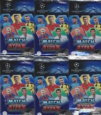 30 cartes MATCH ATTAX champions League 2016-2017 images pochette Topps 5 booster