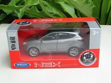 Welly (11 cm) Die cast Model Car Hyundai Tucson IX35 SUV 2013(Grey) 1-38