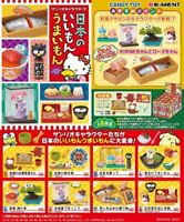 "Re-ment Sanrio Characters miniature ""Japanese Life"" Full Box Set Figures"