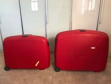 Samsonite Red Hard Suitcases Set of 3 Small (Hand Luggage), Medium & Large
