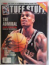 Tuff Stuff Magazine Admiral Dave Robinson, Babe Ruth, George Foreman March 1995