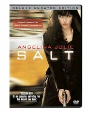 Salt (DVD, WS, 2010, Unrated; Deluxe Edition) Angelina Jolie NEW