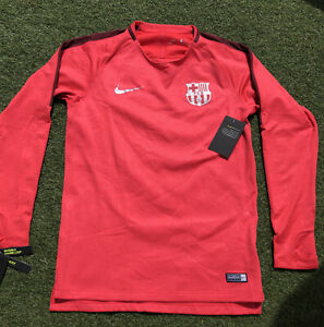 Mens Nike Dri-Fit FC Barcelona Squad Training Top - Small - 919911-691 - BNWT