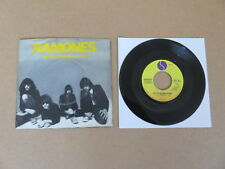 """RAMONES Do You Wanna Dance ? / Baby Sitter 7""""  ORIGINAL 1977 USA PICTURE SLEEVE"""