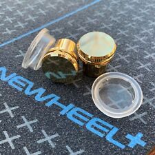 4 Pack - OneWheel Power Button & Gold Metal Charge Port Cap Cover Plus XR New