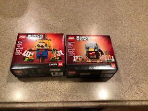 LEGO Brick Headz # 40273 # Thanksgiving Seasonal TURKEY Set ~ New in Sealed Box!
