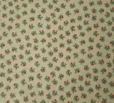 Garden Tales BTY Beatrix Potter Quilting Treasures Peter Rabbit Radish Green