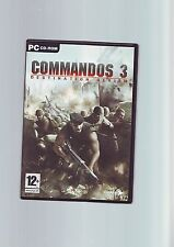 COMMANDOS 3 DESTINATION BERLIN - PC GAME - FAST POST - ORIGINAL & FULLY COMPLETE