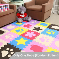 1Pc Soft EVA Foam Cute Pattern Puzzle Mat Pad Floor Crawling Rugs Baby Toy Games