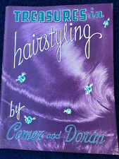 Treasures in Hairstyling by Comer and Doran 1960 Hairstyling, Cosmetology