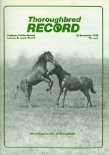 1978 Thoroughbred Record Magazine: Pedigree Profile Busted/Lohman Excerpts