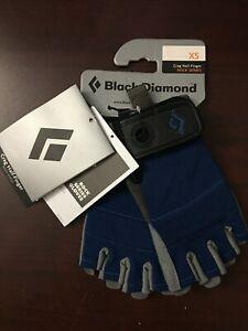Black Diamond Crag Half-Finger Rock Series Climbing Gloves X-Small