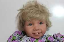 Pat Secrist Life Sz Doll Realistic Toddler 3' tall blonde blue eyes dimples 36""