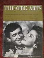 THEATRE ARTS June 1961 Ingrid Bergman Anthony Perkins Richard Gehman