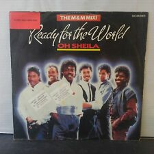 """Ready For The World – Oh Sheila (Vinyl 12"""", Maxi 45 Tours)"""