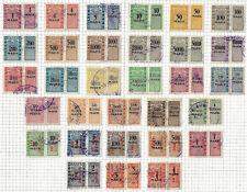Germany Baden 1923 revenues Stempelmarken fiskal