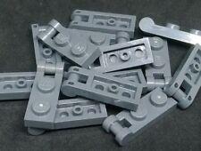 Lego 20x placa plana de 1x4 4x1 gris oscuro//Dark bluish Gray 3710 nuevo