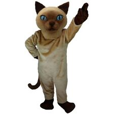 Siamese Cat Professional Quality Mascot Costume Adult Size