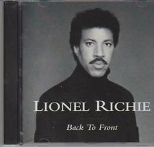 BEST OF LIONEL RICHIE - BACK TO FRONT - CD - NEW -
