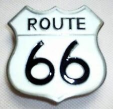 Cintura fibbia Route 66 BIANCO Mother Road America 's Mainstreet Chicago Buckle