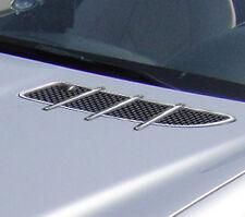 Mercedes Benz R171 convertible SLK Completo Cromo Bonnet adornos de ventilación de aire 2004 >