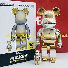 Medicom Be@rbrick Disney x Sorayama 2G Future Mickey Mouse 400% + 100% Bearbrick