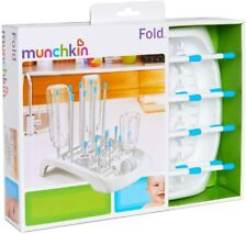 Munchkin Fold-Up Baby Bottle Cups Pump Parts Drying Rack Drainer