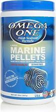 Omega One Garlic Marine Sinking Pellets 20 oz