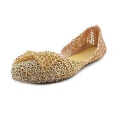 Zapatos planos de mujer Steve Madden oro